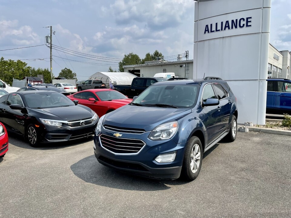 2016 Chevrolet Equinox  - Alliance Ford