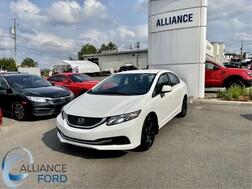 2013 Honda Civic LX  - D0087  - Alliance Ford