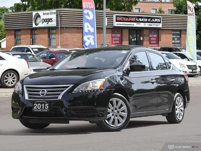 2015 Nissan Sentra S  - 632006  - Octane Used Cars