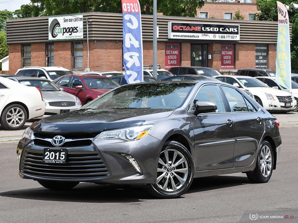 2015 Toyota Camry Hybrid XLE image 1 of 27