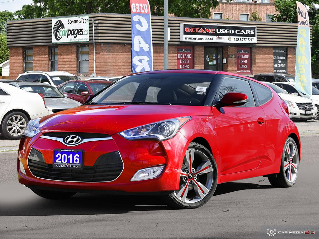 2016 Hyundai Veloster Auto Tech 3dr Cpe  - 276612  - Octane Used Cars
