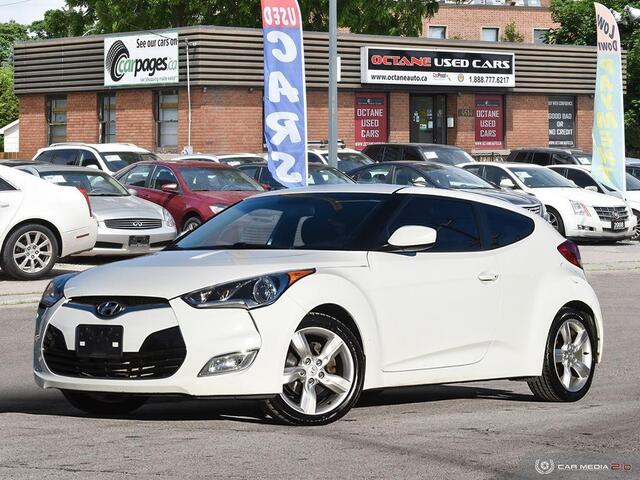 2012 Hyundai Veloster w/Black Int  - 057395  - Octane Used Cars