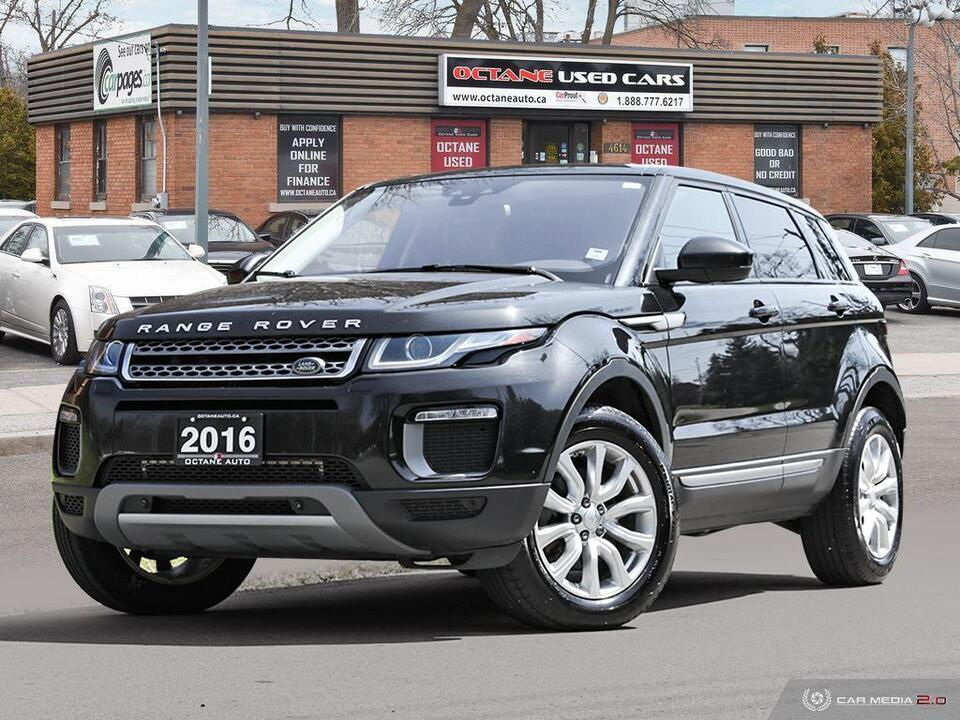 2016 Land Rover Range Rover Evoque SE image 1 of 27