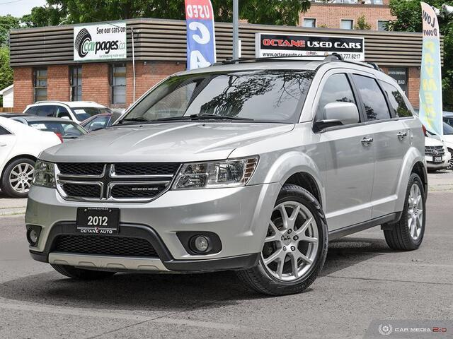 2012 Dodge Journey R/T AWD Accident-Free!  - 165668  - Octane Used Cars