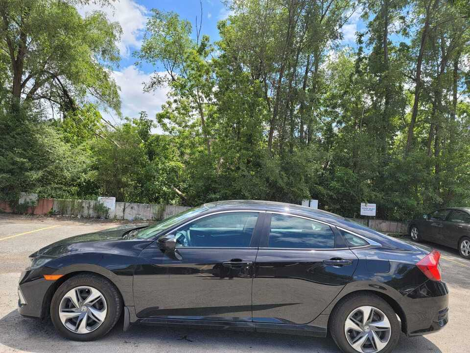 2020 Honda Civic Sedan LX image 2 of 14