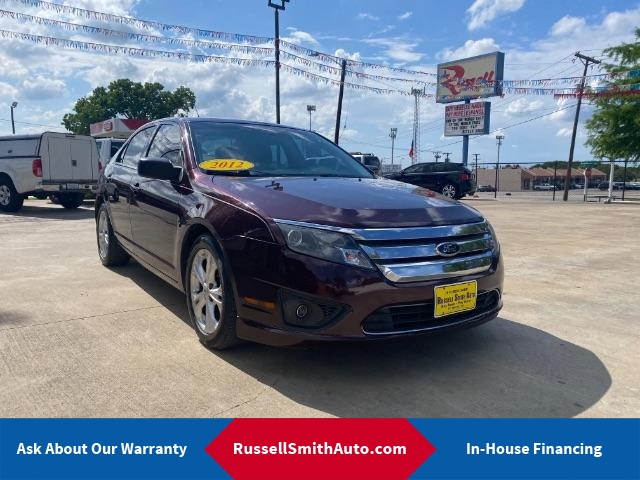 2012 Ford Fusion SE  - FO12X493  - Russell Smith Auto