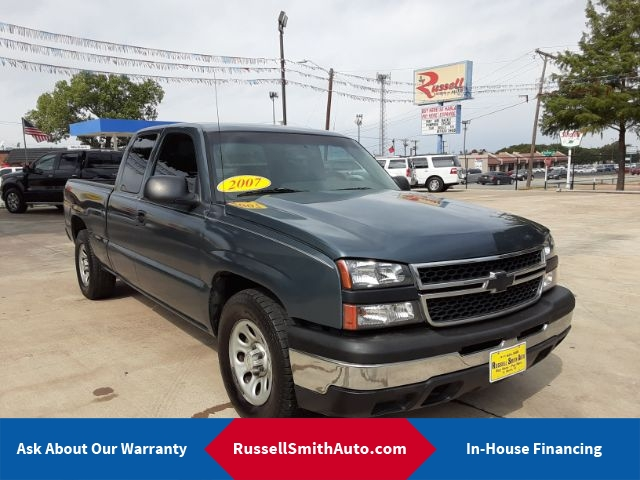 2007 Chevrolet Silverado 1500 LS Ext. Cab 2WD Extended Cab  - CH07T674  - Russell Smith Auto