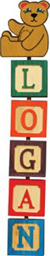 Hang-A-Name Letter Blocks