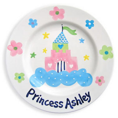 Kids Hand-Painted Ceramic Plates  sc 1 st  Kids Personalized Gifts | Custom Kids Gifts at For That Occasion : painted ceramic plates - pezcame.com