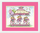 Girls Personalized Wall Art