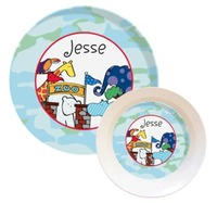 All Melamine Dish Sets for Kids