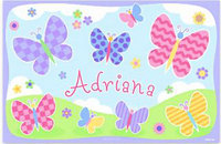 Butterflies & Ladybugs Placemats