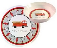 Trains, Planes, Cars & Trucks  Dish Sets