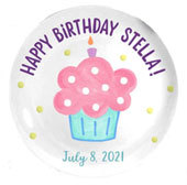 Personalized Birthday Plates