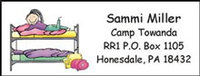 Camp Return Address Labels
