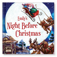 Kids Personalized Christmas Books