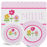 Girls Placemats with Plate/Bowl