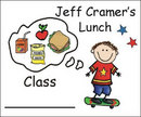 Lunch/Snack Bag Stickers & Stampers