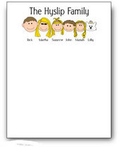 Family Notepads