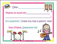 Fill-In Thank You Notes