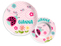 Kids Microwave Safe Plates, Bowls and Dish Sets