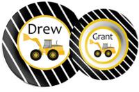 Trains, Planes, Cars & Trucks  Dish Sets