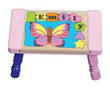 Butterfly Personalized Puzzle Stool in Pastel Colors (Choice of colors)