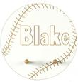 Baseball Personalized Coat Rack