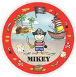 Pirate Personalized Melamine Plate