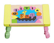 Noah's Ark Personalized Puzzle Stool in Pastel Colors (Choice of colors)