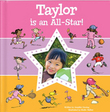 I'm An All Star Personalized Book for Girls