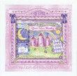 Lilac Castle Personalized Nursery Wall Art