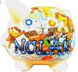 Boatload of Animals Personalized Piggy Bank