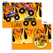 Monster Trucks Personalized  Placemat