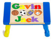 Sports Double Name Personalized Puzzle Stool-1-6 Letters each name (Choice of Colors)