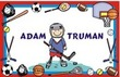 Sports Personalized Placemat (You select head & sports body)