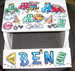 Cars & Trucks Personalized Flip Step-Stool (Also available in maple)