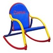Personalized Child's Rocker with Blue Mesh Seat