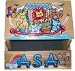 Boatload of Animals Personalized Flip Step-Stool