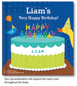 My Very Happy Birthday Personalized Board Book for Boys
