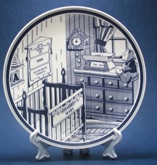 personalized birth plate ceramic birth plates at for that occasion