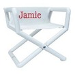 Personalized Jr. Director's Chair with White Mesh Seat