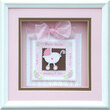 Baby Girl's Carriage Personalized Shadow Box
