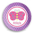 Butterfly Personalized Melamine Plate