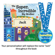 Super, Incredible,Big Brother Personalized Book
