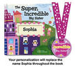 Super, Incredible, Big Sister Personalized Book