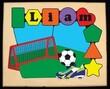 Personalized Soccer Puzzle Board