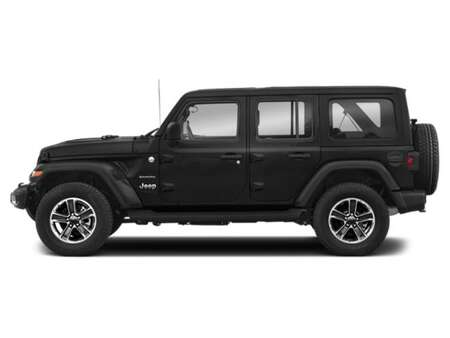 2021 Jeep Wrangler UNLIMITED SAHARA * 2 TOITS * GPS * APPLE CARPLAY * for Sale  - BC-21771  - Desmeules Chrysler